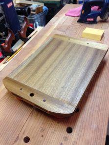 Breadboard-end Cutting Board by Greg Berlin