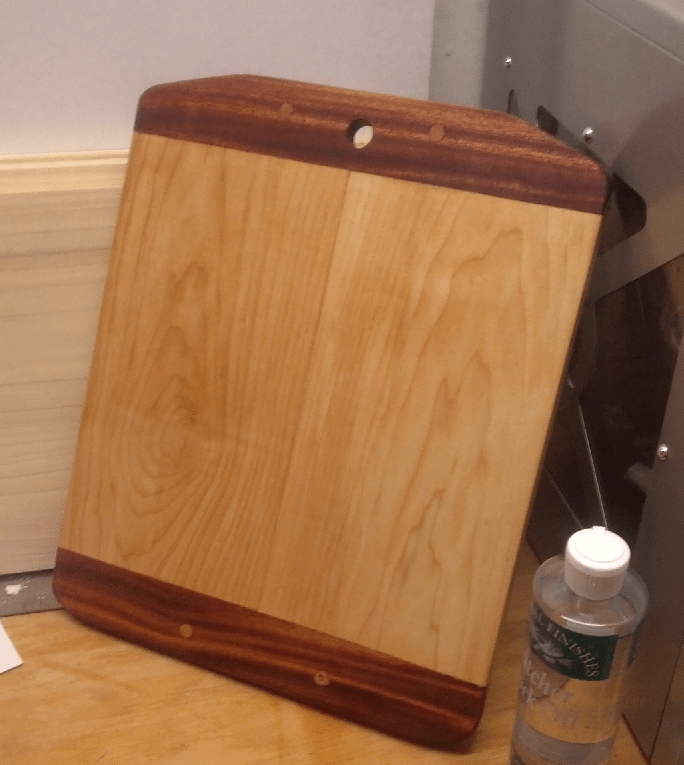 Breadboard-end Cutting Board by Mike Prutz