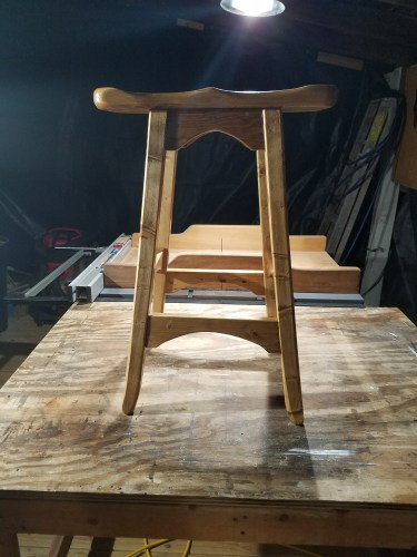 Bench Stool by kenhamilton
