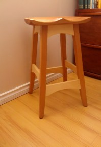 Bench Stool by LeanneFleming