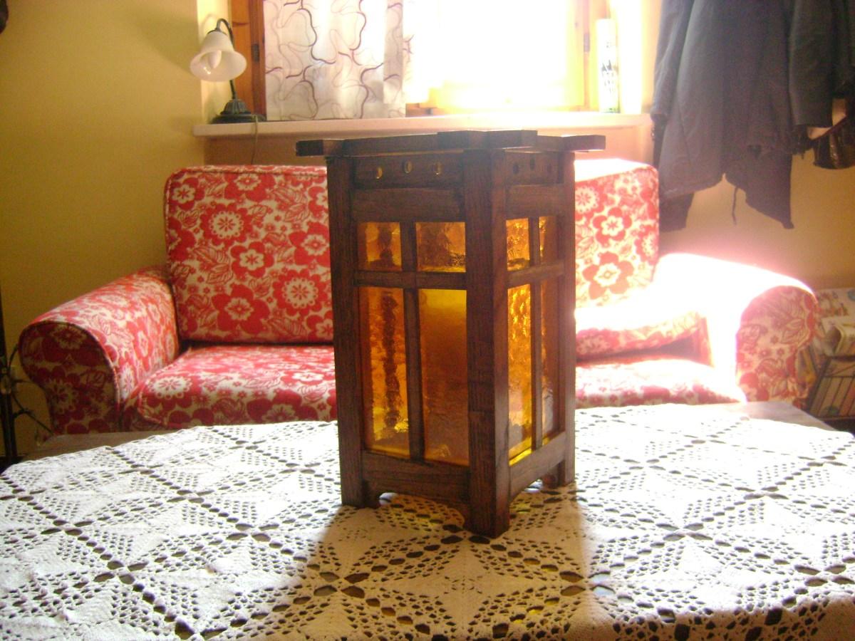 Craftman-style Lamp by Giorgio Bianucci