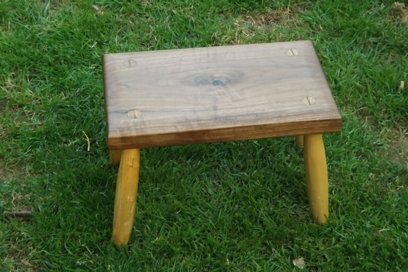 Foot Stool by david o'sullivan
