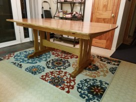 Trestle Table by trooper82