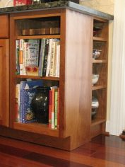 Kitchen Bookcase by Tom Benim