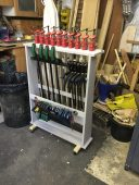 Workshop Clamp Rack by Jon Place