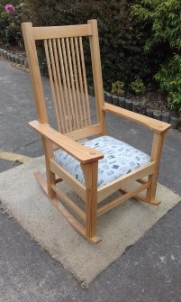 Rocking Chair by jcat