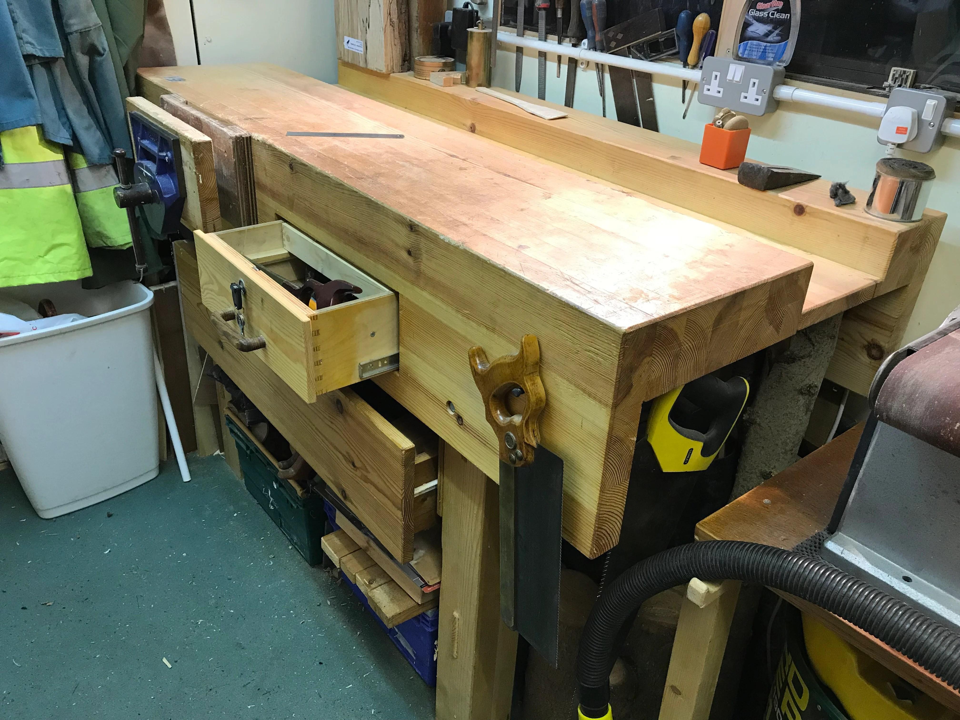 Workbench by Paul Rowe