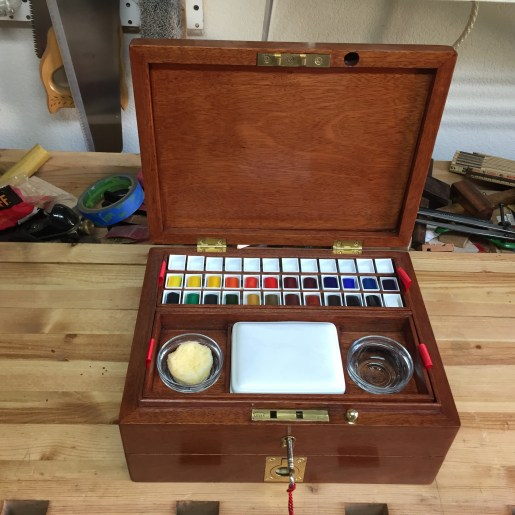 Water Color Artist Box by Todd Wegner