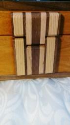wooden hinge