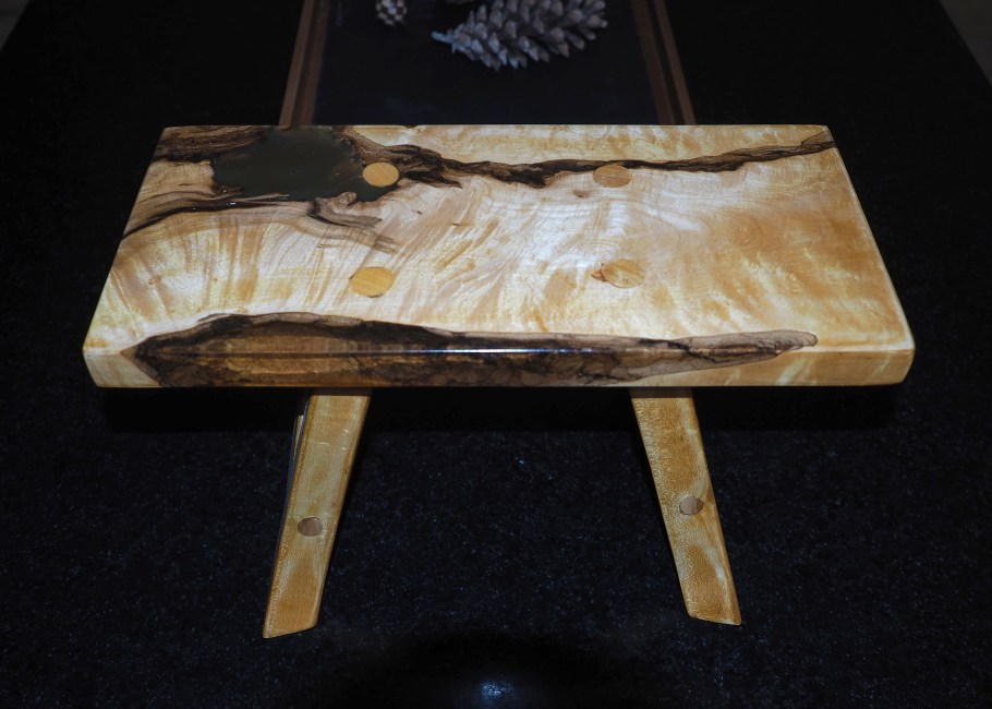 Footstool by kevin winsor