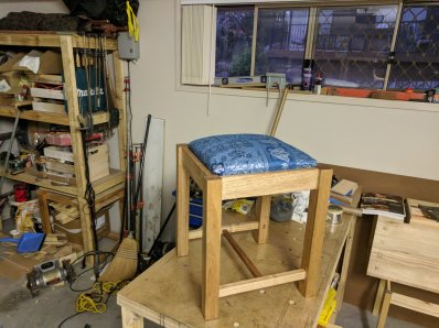 Anniversary Gift Dressing Table Seat
