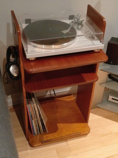 Turntable Stand by Danny Marchese