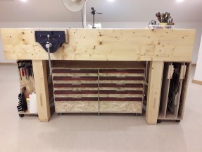 AugCampos Workbench, wood spruce and osb