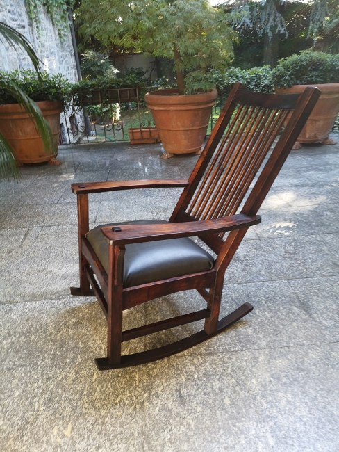 Rocking Chair by Giorgio Colombo