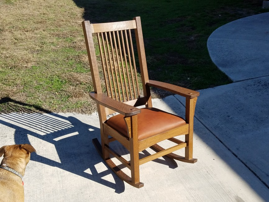 Rocking Chair by PatRick Monaghan