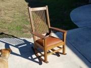 Craftsman style rocking chair