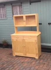 Made from premier pine finished with three coats of Ronsil mat varnish.