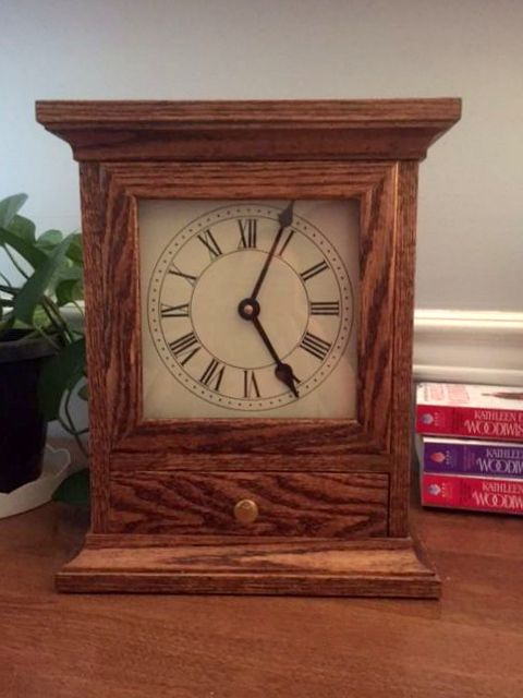 Mantel Clock by Steve Goodwin