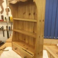 Wall cabinet. Made from Scandinavian Redwood
