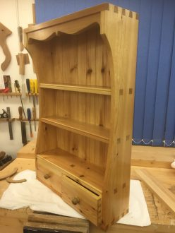 Wall cabinet. Made from Scandinavian Redwood