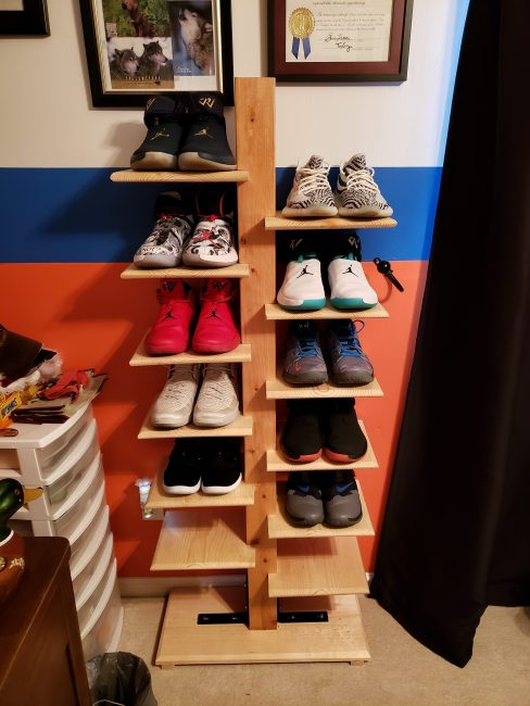 Shoe Rack by Kaleb