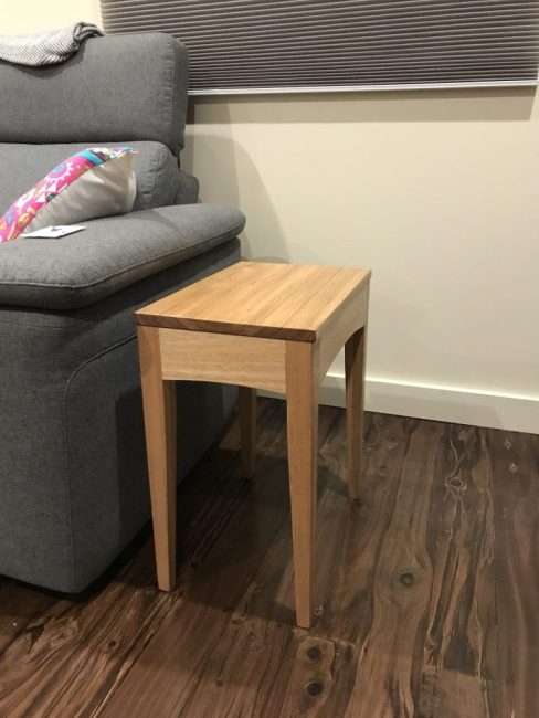 Small coffee table that is perfect sized for my couch.