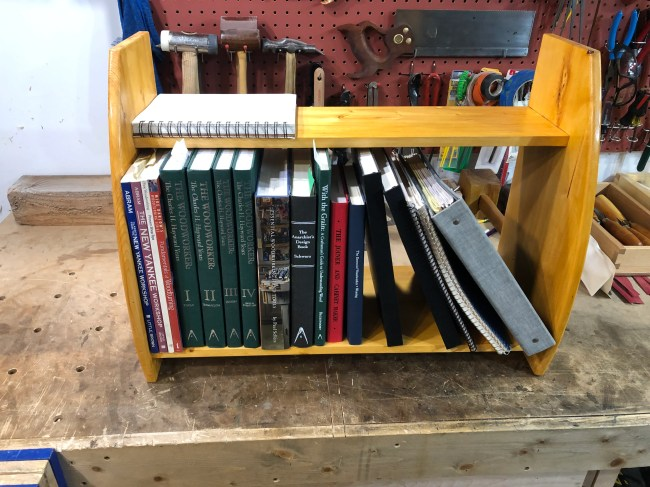Wall Shelf by Brian Rosenberg