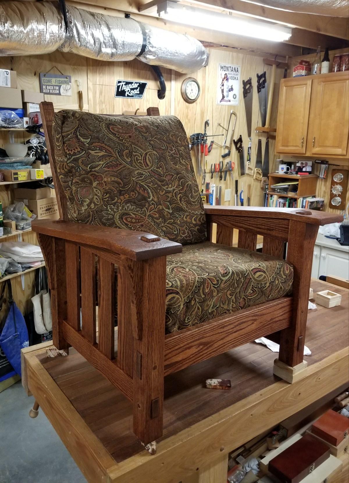 Morris Chair by Hetzal Hartley