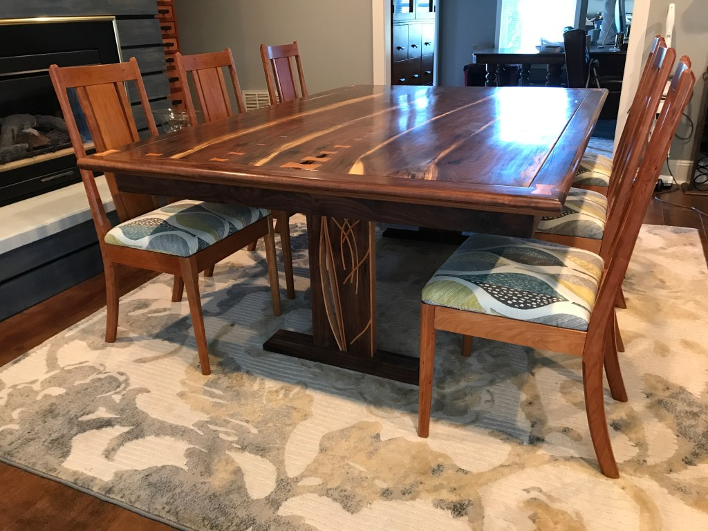 Trestle Table by Chris Stasny