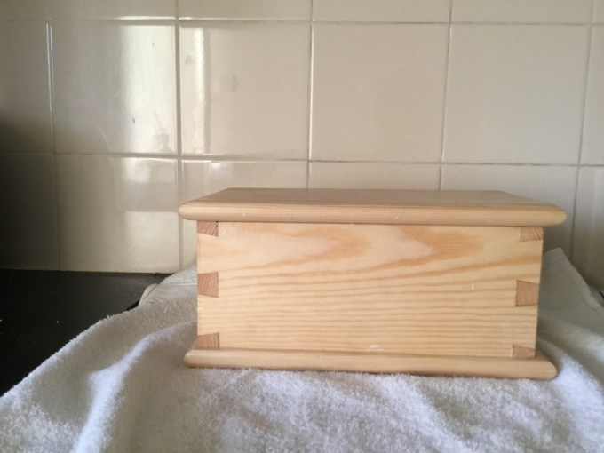 Dovetail Box by Robert parsons 81