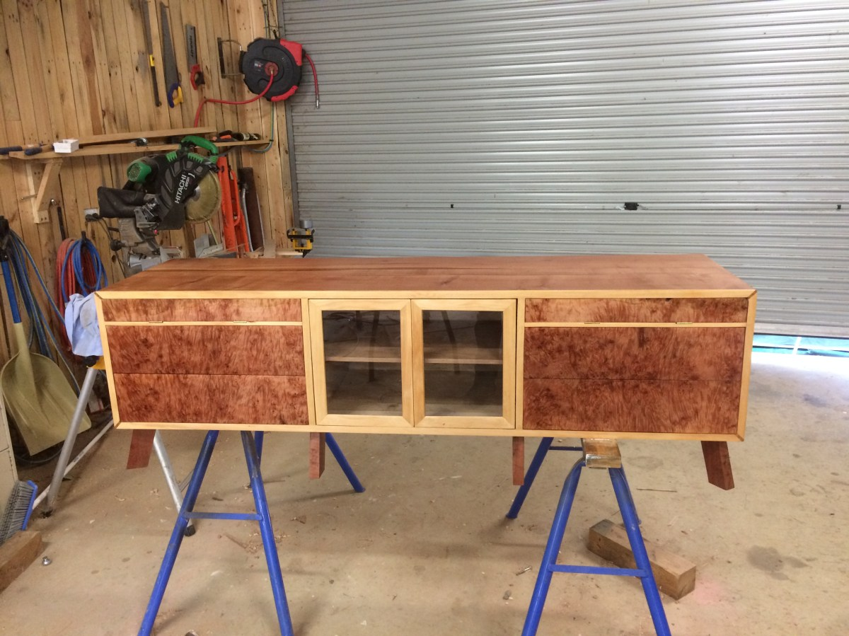 Entertainment Unit with DVD Storage by Andrew Chambers