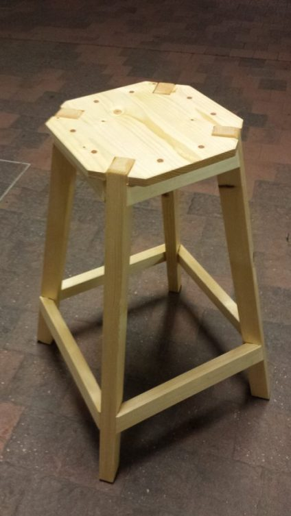 Bench Stool by Andrea Selva