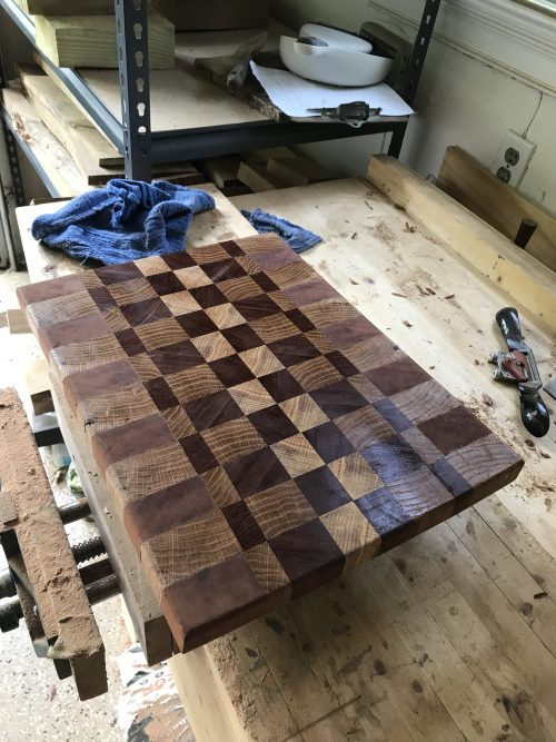 Breadboard-end Cutting Board by chason Hayes