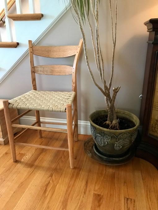 Post and Rung Ladder Back Chair by Kurt Schultz