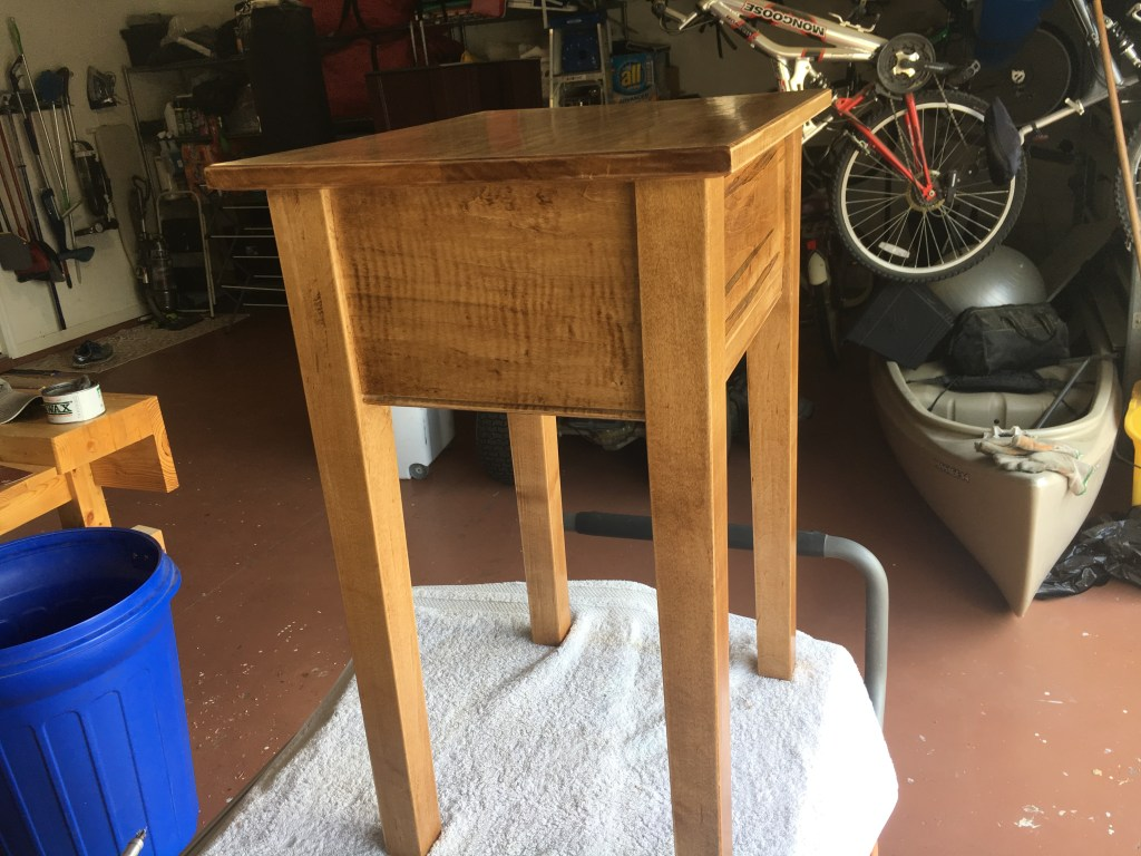Bedside Table by Paul Bowes
