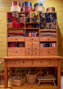 Shaker Style Sewing Cupboard and Desk by Harold Blair