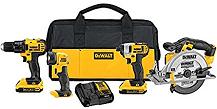 DEWALT DCK421D2 Combo Kit