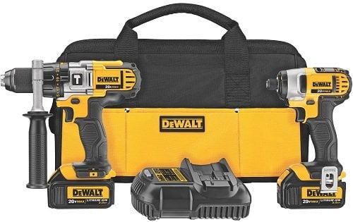 DEWALT DCK290L2 Hammer Drill & Impact Driver Combo Kit