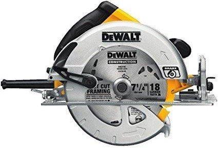 """Dewalt DWE575SB 7-1/4"""" Lightweight Corded Circular Saw"""