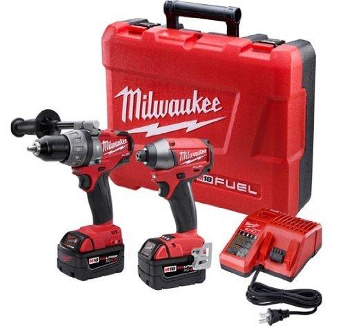 Milwaukee 2797-22 M18 Lithium Battery Combo Kit