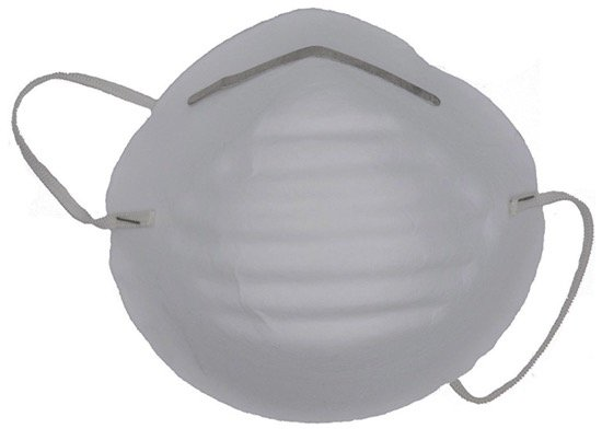 Universal 4528 Non-Toxic Disposable Dust & Filter Safety Masks