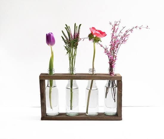 Ronja's 4-Bottle Vase Tutorial