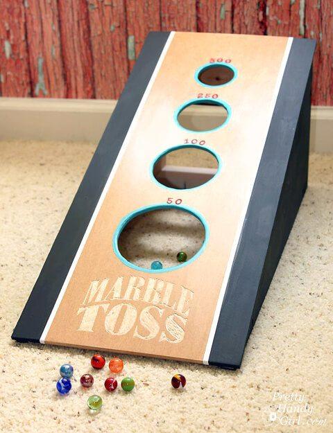 Pretty Handy Girl's DIY Marble Game Tutorial