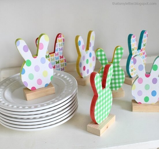 MDF Bunny Place Cards DIY Guide