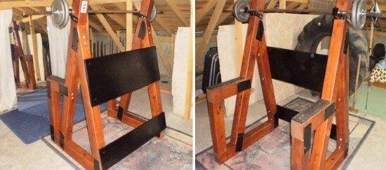 Wooden Squat Rack DIY Guide