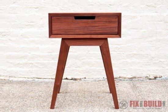 Modern & Stylish DIY End Table Tutorial