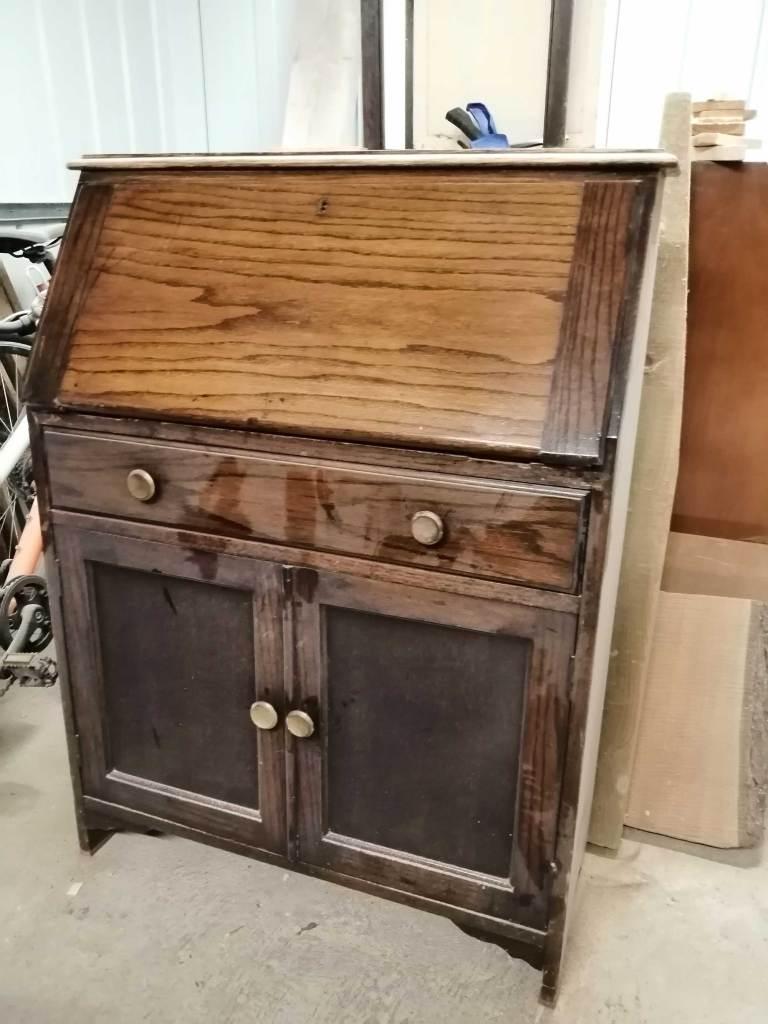 Upcycled bureau desk - Before