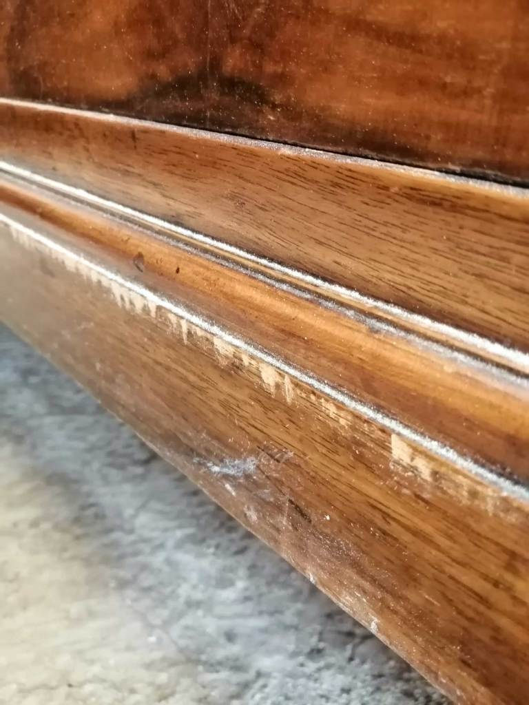 Upcycled chest of drawers - Scratches