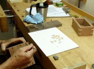 Applying the glue