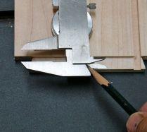 1.) Step on back of caliper
